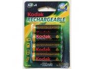 Аккумулятор универсальный Kodak AA Ni-MH 1700 мАч (1шт)