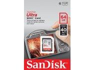 Secure Digital Card 64 GB class 10 Sandisk