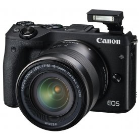 Фотоаппарат Canon EOS M3 Kit 15-45mm IS STM Black