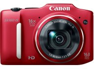 Фотоаппарат Canon PowerShot SX160 IS Red