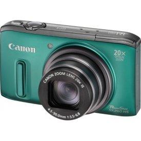 Фотоаппарат Canon PowerShot SX260 HS Green