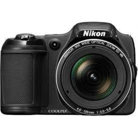 Фотоаппарат Nikon Coolpix L820 Black