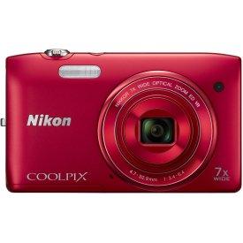 Фотоаппарат Nikon Coolpix S3500 Red
