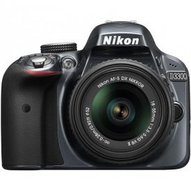 Фотоаппарат Nikon D3300 18-55mm AF-P Kit Серый