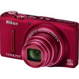 Фотоаппарат Nikon Coolpix S9500 Red