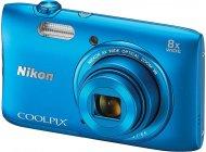 Фотоаппарат Nikon Coolpix S3600 Blue