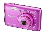 Фотоаппарат Nikon Coolpix S3700 Pink