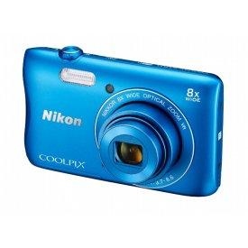 Фотоаппарат Nikon Coolpix S3700 Blue