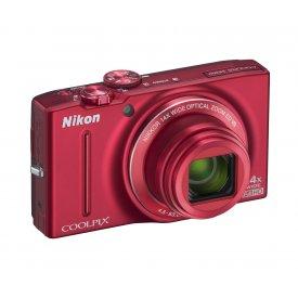 Фотоаппарат Nikon Coolpix S9700 Red