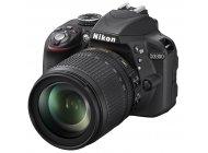 Фотоаппарат Nikon D3300 18-105VR Kit