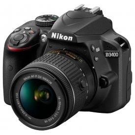Фотоаппарат Nikon D3400 KIT AF-P 18-55