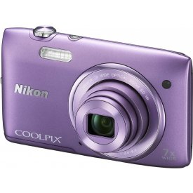 Фотоаппарат Nikon Coolpix S3500 Purple
