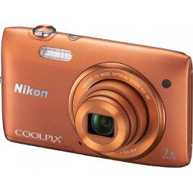 Фотоаппарат Nikon Coolpix S3500 Orange