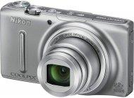Фотоаппарат Nikon Coolpix S9500 Silver