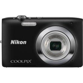 Фотоаппарат Nikon Coolpix S2600 Black