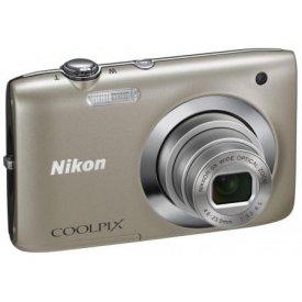 Фотоаппарат Nikon Coolpix S2600 Silver