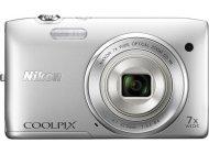 Фотоаппарат Nikon Coolpix S3500 Silver