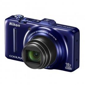 Фотоаппарат Nikon Coolpix S9300 Blue