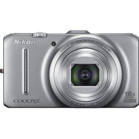 Фотоаппарат Nikon Coolpix S9300 Silver