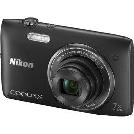 Фотоаппарат Nikon Coolpix S3500 Black
