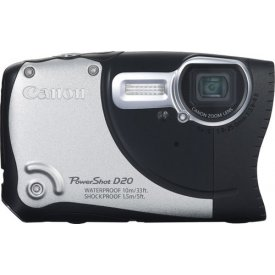 Фотоаппарат Canon PowerShot D20 Silver