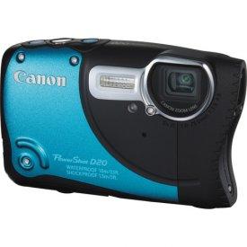 Фотоаппарат Canon PowerShot D20 Blue