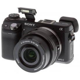 Фотоаппарат Sony Alpha NEX-6L 16-50mm Kit