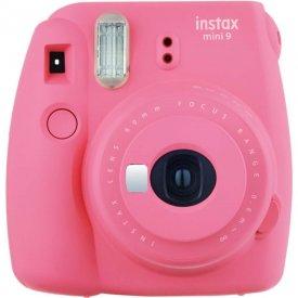 Фотоаппарат Fujifilm Instax Mini 9 Flamingo Pink (розовый) в комплекте Фотопленка Fujifilm Instax Mini 10 шт
