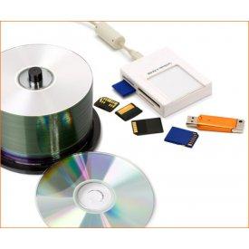 Запись на диски и флэш-носители