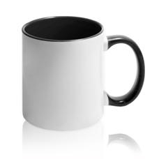 чашка с бордовой заливкой для фото