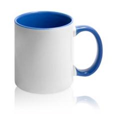чашка с синей заливкой для фото (оттенок кембридж)