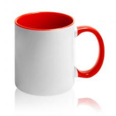 чашка с красной заливкой для брендирования